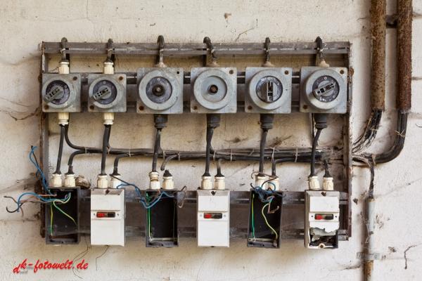 marode elektrotechnische Anlage